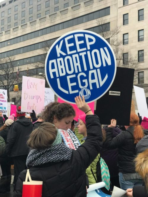 Trump Abortion Sign