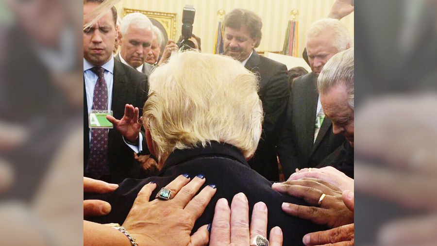 faith and prayer in the oval office