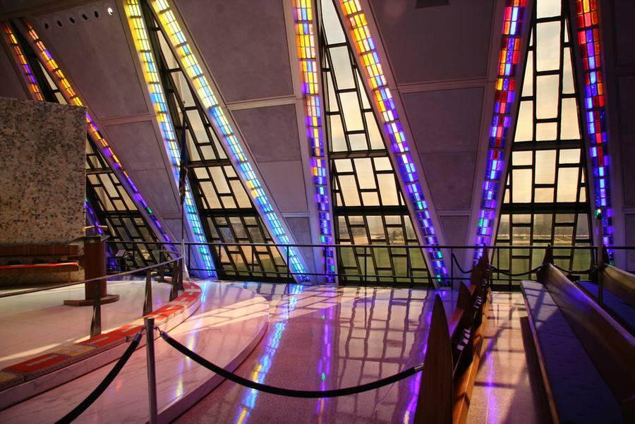 USAFA Chapel Inside 2 - 900