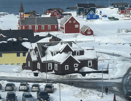 The building that served as the U.S. Consulate in Greenland from 1940 to 1953 still stands today.