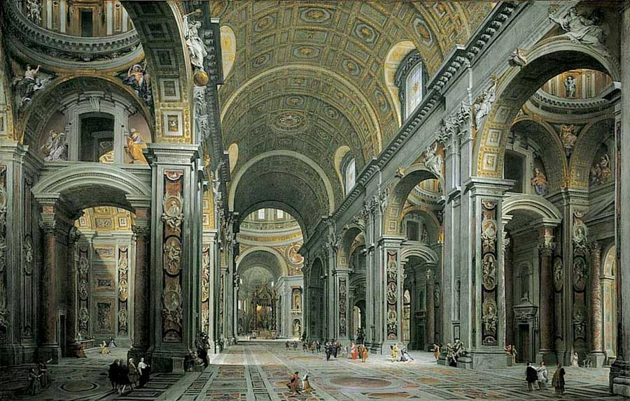 Beautiful Churches: St. Peter's Basilica, Vatican City