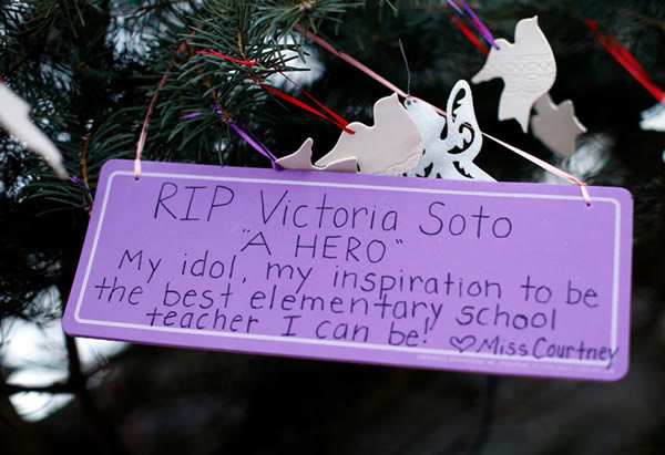 Victoria Soto, the teacher at Sandy Hook Elementary School who hid her students from the shooter, was 27 years old.