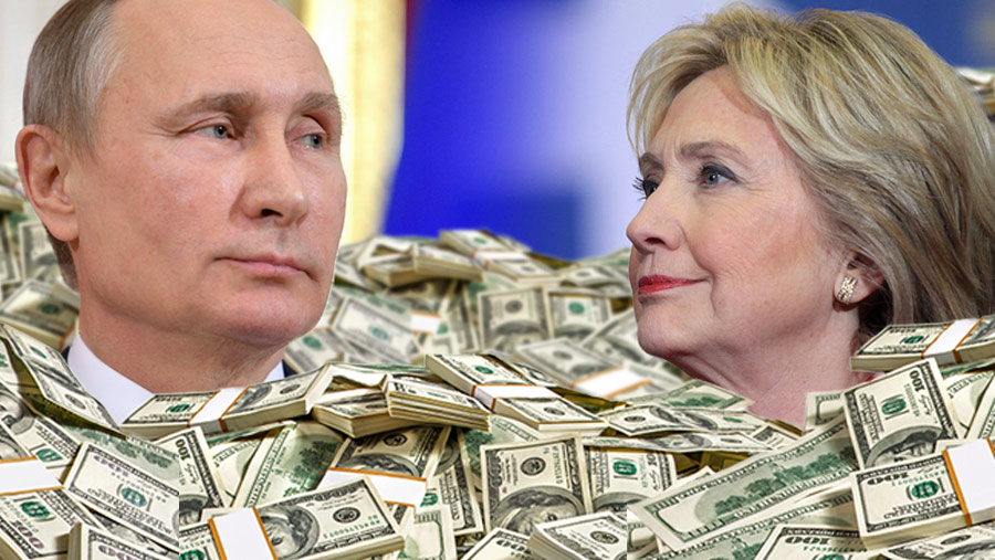 Vladimir-Putin-Hillary-Clinton-Money-Pil