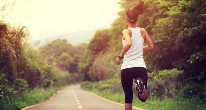 Young Woman Running, Runner, Fitness, Athlete, Athletics, Jogging, Transgender Athletes