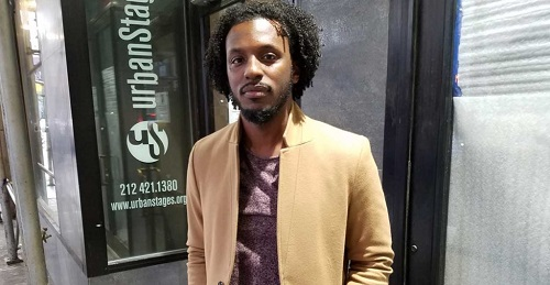 Actor Cedric Benjamin, who played Dorian Johnson. (Photo: The Daily Signal)