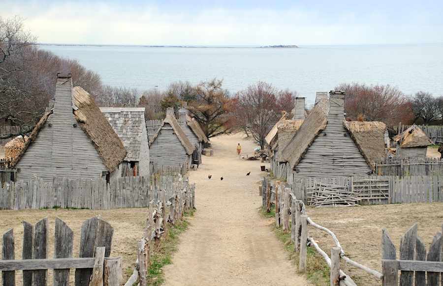 """Plimoth Plantation is a living museum in Plymouth, Massachusetts that shows the original settlement of the Plymouth Colony established in the 17th century by English colonists, some of whom later became known as Pilgrims."""