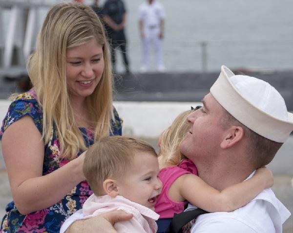 USS Texas Homecoming