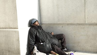 Of the estimated 7,000 homeless men and women in Washington, 1,166 are experiencing chronic homelessness.