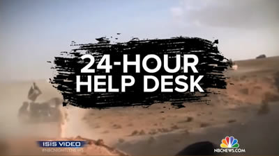 Awesome ISIS Has Jihadi Help Desk For Terrorists, Staffed Around The Clock