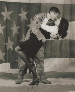 U.S. Army Staff Sgt. Joseph Altmann and his wife, Nikki.