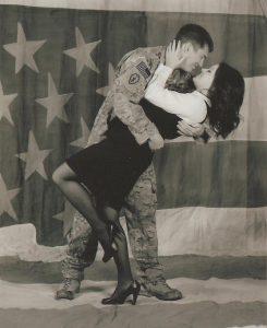 U.S. Army Staff Sgt. Joseph Altmann and his wife, Nikki.
