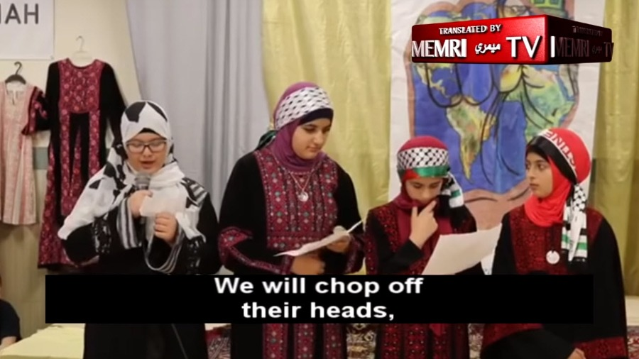 f7763379b102 We Will Chop Off Their Heads   Video of Children in Philly Islamic ...