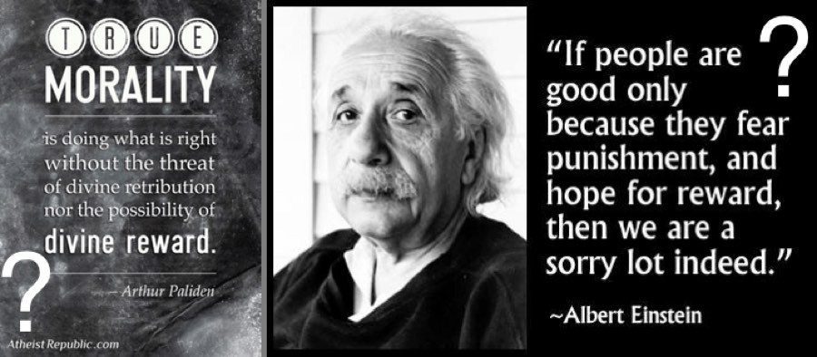 challenge atheist ethics are better because atheists do good for